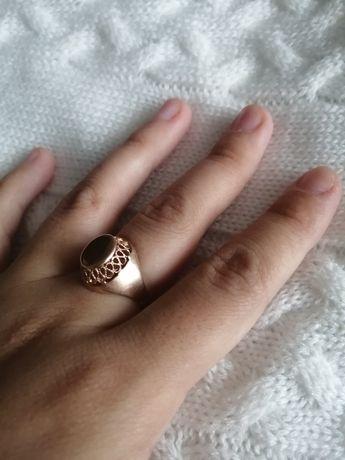 Золотое кольцо СССР 583 проба со звездой 3.5гр 16.5размер