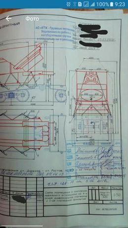Схема погрузки и крепления на ЖД вагон