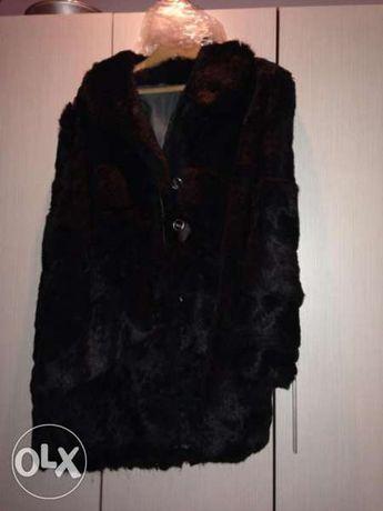 дамско кожено палто намалена цена 65лв
