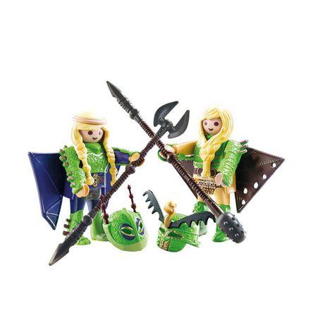 "Sigilat Playmobil Dragons 70042 ""Raffnut si Taffnut in costume de zbor"