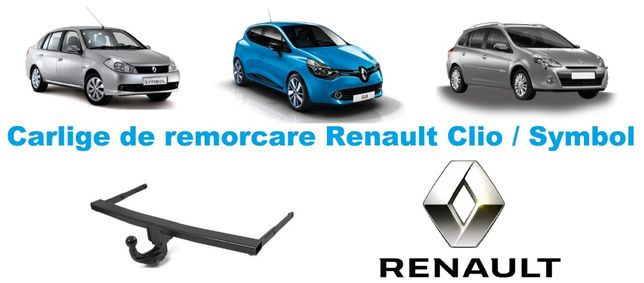 Carlige de remorcare omologate RAR Renault Clio / Symbol