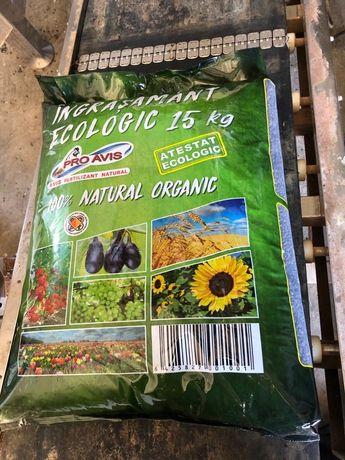 Ingrasamant organic Certificat ECO !!!
