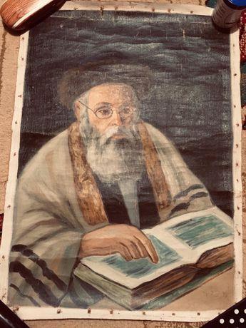 Tablou Rabin Evreu Fără rama Judah Halevi