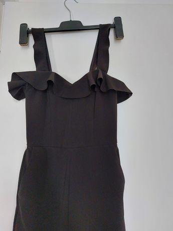 Salopeta lunga H&M, corset, marimea XS
