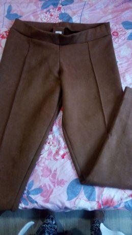 Pantaloni maro măr 38-40