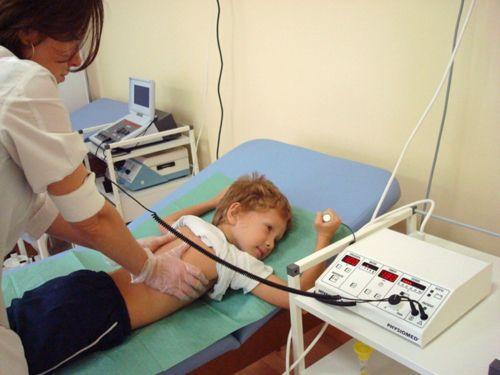 Электрофорез СМТ или амплипульстерапия с детским массажем