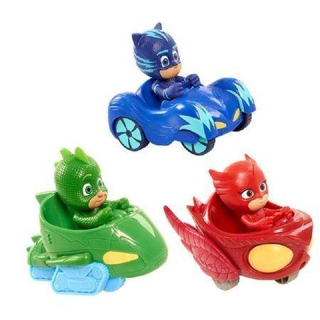Set 3 eroi cu masinute