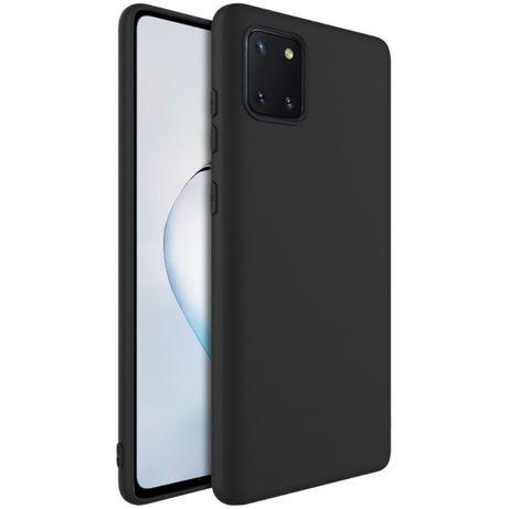 Husa Silicon Slim Neagra/Clara Samsung S10 Lite / Note 10 Lite S20 FE