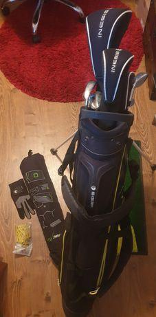 Set echipament golf (crose, mingi, covoraș, mănușă, poartă, husă, teu)