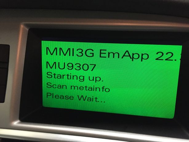 Depanare AUDI MMI - Bootloader - software blocat - eroare