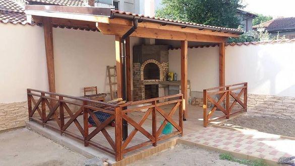 Ремонт на Покриви. Изграждане на Дървени Навеси, Пловдив.