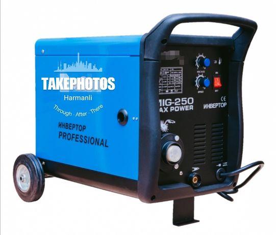 Професионално Телоподаващо Со2 250 Ампера  4м Еврошланг
