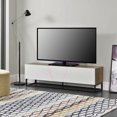 Comoda Tv cu led cu led Rgb 140X35X41cm Promo Nou