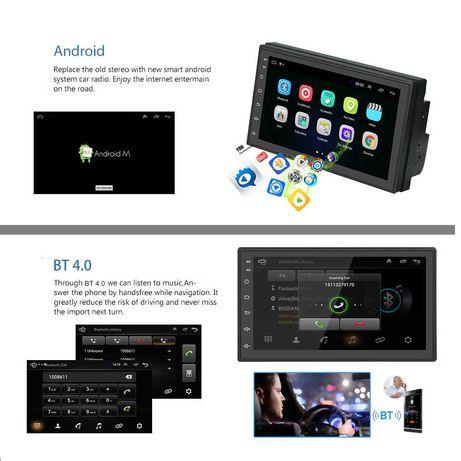Player Android 9.1 Sigilat Navigatie 2din auto gps!Tip 8715 Kia Rio