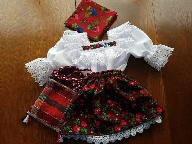 Costum popular fete de Maramureș
