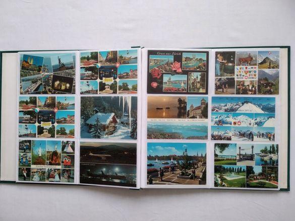 Швейцарски пощенски картички от 70-те и 80-те години