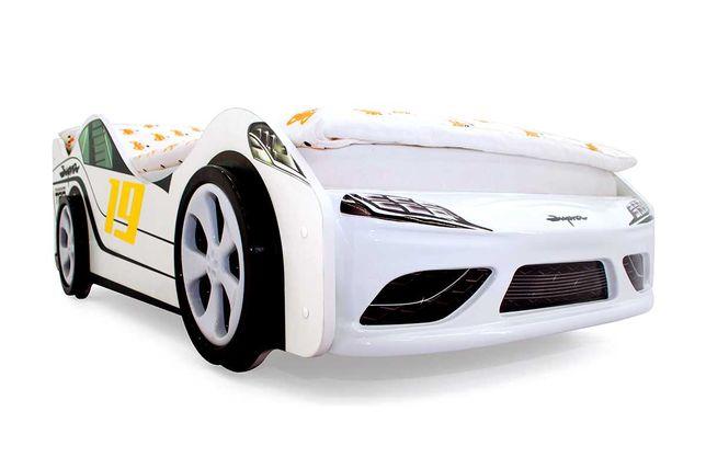 """Детская кровать машинка машина """"Супра"""" 3D  Жанаозен"""