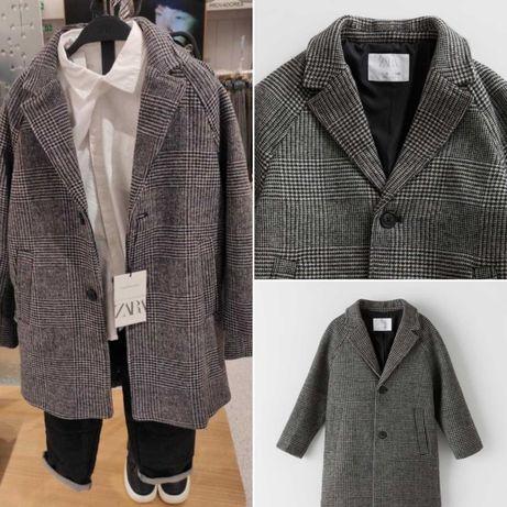 Пальто Zara на 9/10 лет новое классика