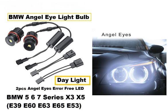 LED крушки за фабрични ангелски очи 80W за BMW E39 E53 E60 E63 Е83