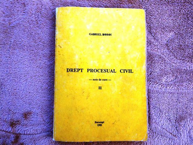 Drept Procesual Civil - Note de curs - Vol. II