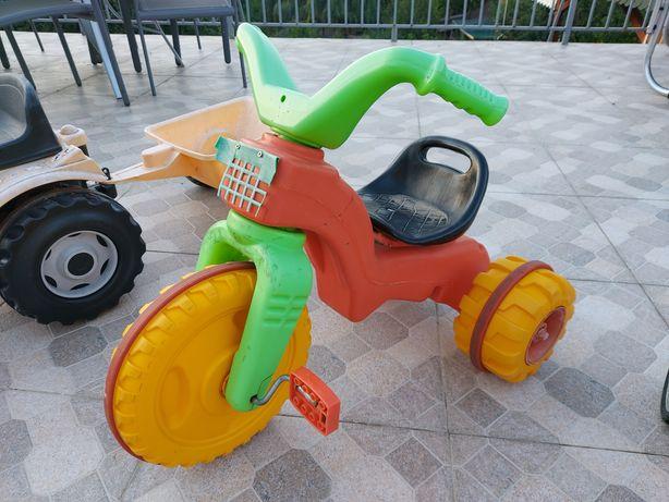 Tricicleta colorata copii