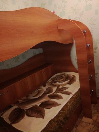 Двухярусная новая подрастковая кровать