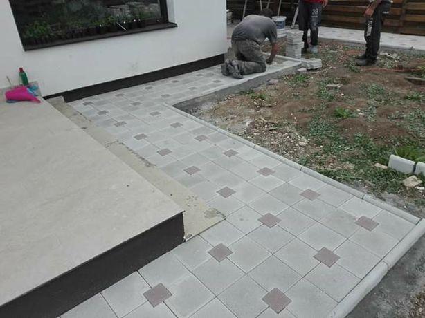Fabricam pavaje si pavele din beton aditivat pentru zone rezidentiale