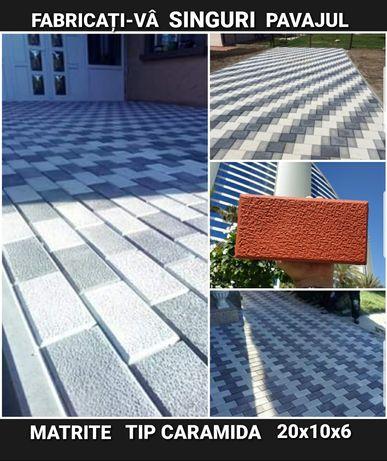 OFERTA SEZONULUI matrite pavaj constructi forme pavele scule beton