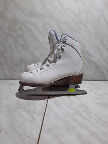 Patine gheata profesionale patinaj artistic 41 Riedell marime eu  30