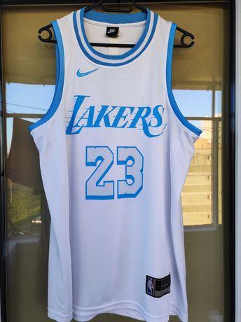 Maiou Lakers alb NBA adulti