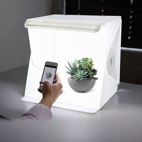 Кутия за продуктова фотография фото кутия за професионални снимки Led