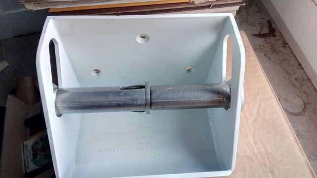 Suport rolă hârtie igienică (metal, Newton&Chambers, Sheffield)