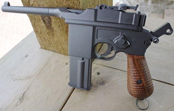 Pistol CO2 MAUSER KWC-C 96-Full Auto- Blow-Back- 1An Garantie