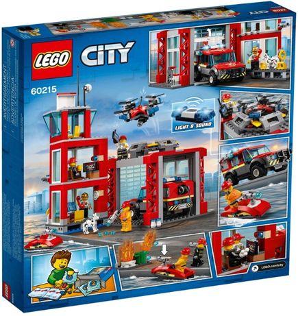 LEGO 60215 City Fire Пожарное депо новый, оригинал !