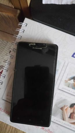 Смартфон Lenovo A6000, 8GB, 4G, Black