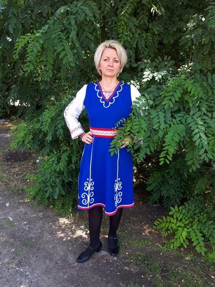Дамска шопска носия
