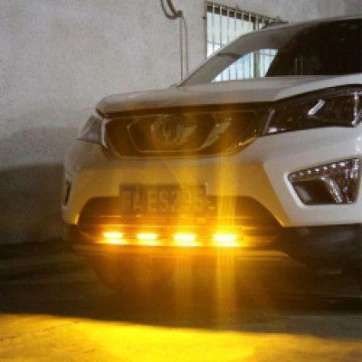 Блиц авариен 4-LED 8 броя предупредителни мигащи светлини 12V
