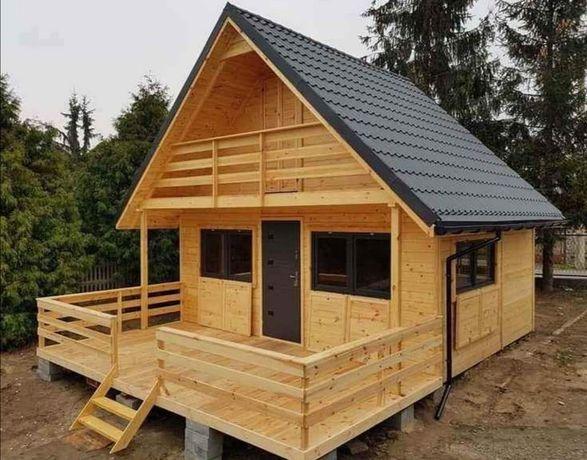 Cabane, case, magazi din lemn