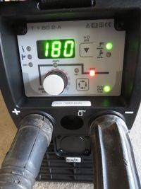 електрожен, заваряване, EWM 180 Pulse