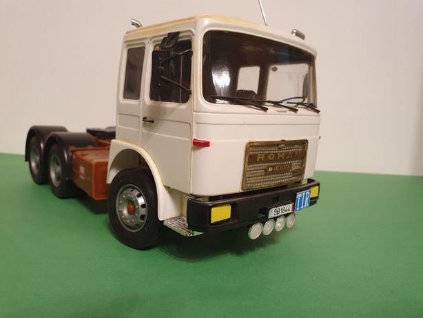 Roman Diesel 19.256 cu semiremorca transport bușteni