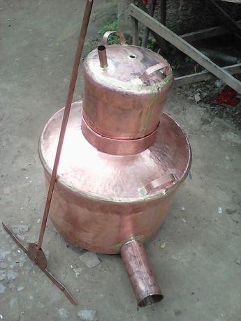Cazane de tuica din arama-cupru alimentar 99,99% de 88de litri