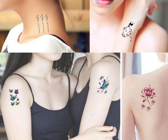 Временни татуировки за хелуин и ежедневно ползване
