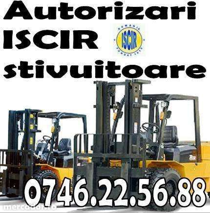 Autorizare iscir stivuitor 8 t, servicii complete operator RSVTI