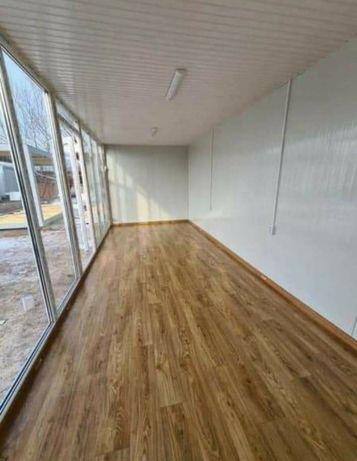 Vand container modular tip vitrina sau căsuța  sau birou