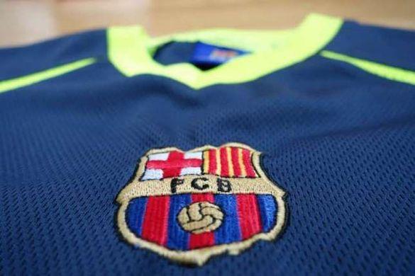 Детска тениска Барселона