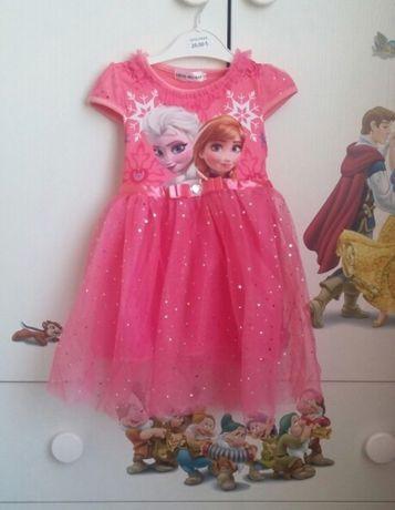 Rochie fete copii Elsa Frozen