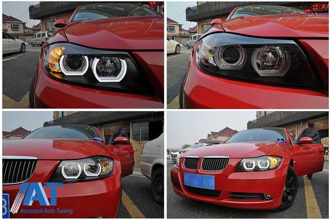 10. Faruri Xenon D1S BMW Seria 3 E90 Montaj Gratuit Garantie 1 an