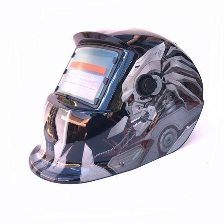 НОВО Заваръчен шлем соларна маска с функции