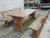 Изработка на баварски маси и пейки комплект,масив .
