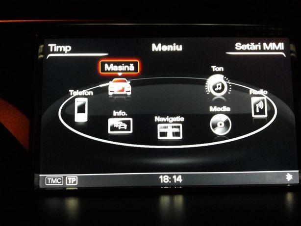 Meniu si voce limba romana Audi A4, A5, A6, A8, Q5, Q7
